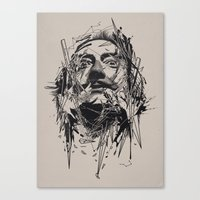 dali Canvas Prints featuring Dali by nicebleed