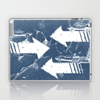 Back to the Future Minimalist Poster Laptop & iPad Skin