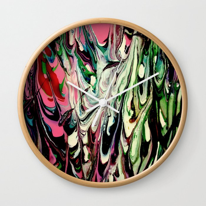 Psychedelic Flow Wall Clock