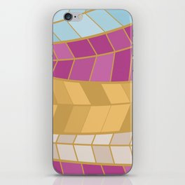 GOLDMOSAIC2 iPhone Skin