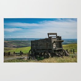 Lonely Wagon Rug