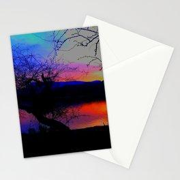 Lake Sunset Stationery Cards