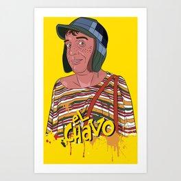 El Chavo del Ocho - Chespirito Art Print