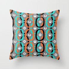 Star Wars Abstract Hoops Throw Pillow