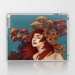 Mushroom Lady Laptop & iPad Skin