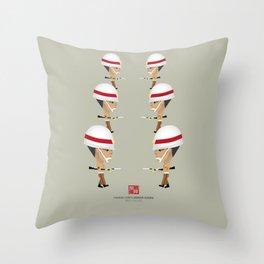 Honor Guard - SHTX Drill Throw Pillow