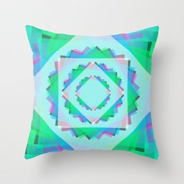Leaf Energy Focus Throw Pillow