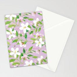 Jasmine Delight Violet Stationery Cards
