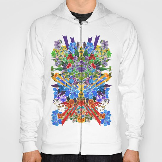 Flower Burst Hoody