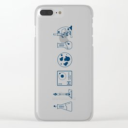 Science Clear iPhone Case