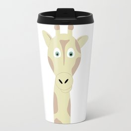 Smiling Giraffe Travel Mug