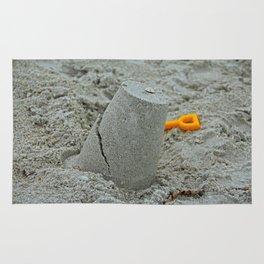 Saffron in the Sand Rug