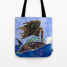 Lady of the Atlantic Crossing Tote Bag