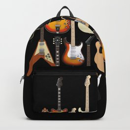 Too Many Guitars! Backpack