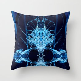 Memories of Atlantis Throw Pillow