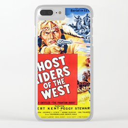 Ghost Riders of The West Clear iPhone Case