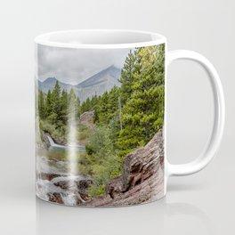 Upper Redrock Falls - Glacier NP Coffee Mug
