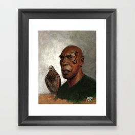 IRON PIGEON  Framed Art Print