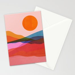 Abstraction_OCEAN_Beach_Minimalism_001 Stationery Cards