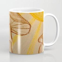 Mushrooms in the sun Coffee Mug
