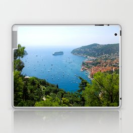 The View Over Villefranche Sur Mer Laptop & iPad Skin