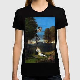 Lorenzo Lotto Allegory of Chastity T-shirt