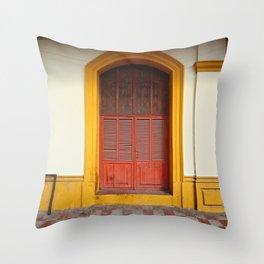 cache-cache Throw Pillow