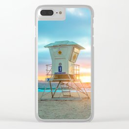 Lifeguard On Duty Clear iPhone Case