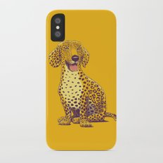 Take a Woof on the Wild Side! iPhone X Slim Case