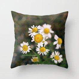 Flower Photography by Brendan Hollis Throw Pillow