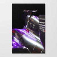 formula 1 Canvas Prints featuring McLaren Formula 1 car by SteveHphotos