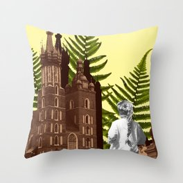 Cracow Communion Throw Pillow