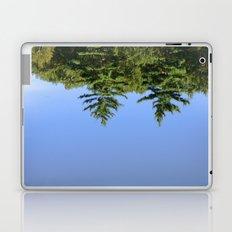 Reflecting at Farrar Pond 1 Laptop & iPad Skin