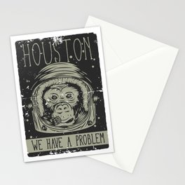 Houston - we have a Problem Stationery Cards