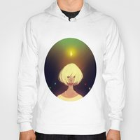 crystals Hoodies featuring Crystals by Pods