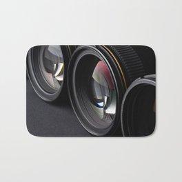 Photo lenses Bath Mat