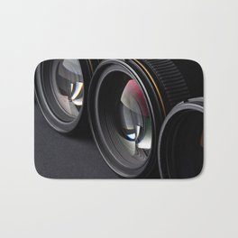 Photo lenses Bath Mat