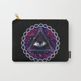 Psychedelic Sacred Geometry Carry-All Pouch