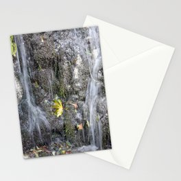 small watercourse, color photo Stationery Cards