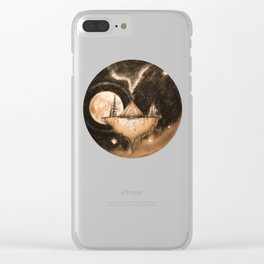 NIICH-My Home Clear iPhone Case