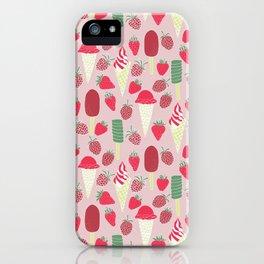 Berries&Cream iPhone Case