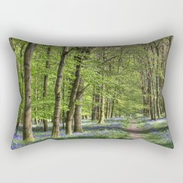 Bluebell Walk Rectangular Pillow
