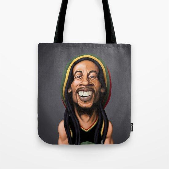 Celebrity Sunday - Robert Nesta Marley Tote Bag