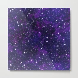 winter galactic Metal Print