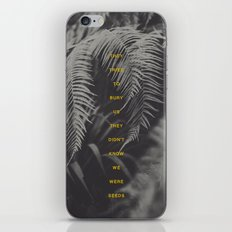 Bury Us iPhone & iPod Skin