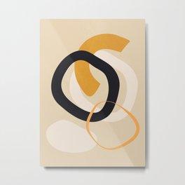 Abstract Shapes 46 Metal Print