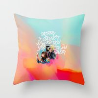 telephone Throw Pillows featuring telephone by evenstarss