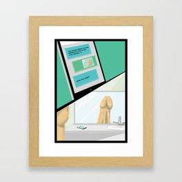 Erectile Dysfunction Framed Art Print