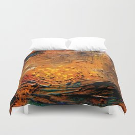 Spatial sea Duvet Cover