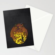 The Fire. Stationery Cards